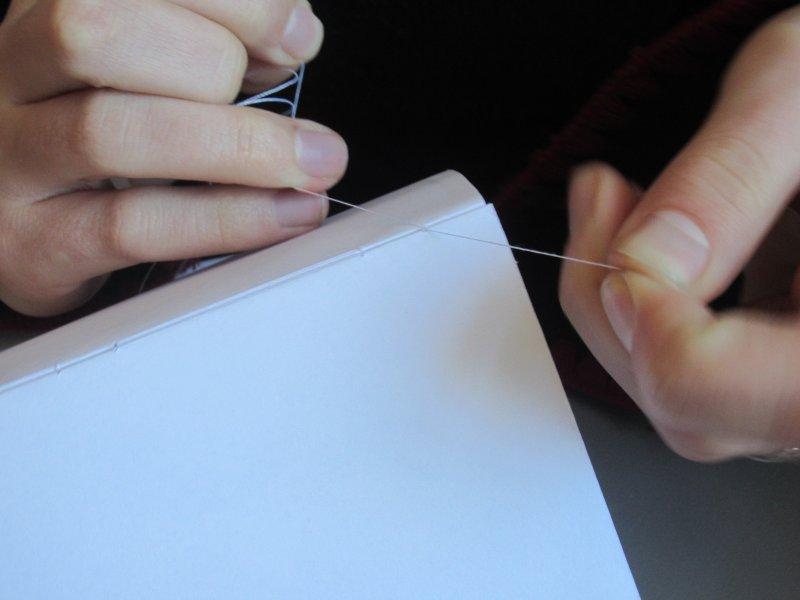 Souvent Réalisation d'un cahier relié | TROLLCALIBUR EK54