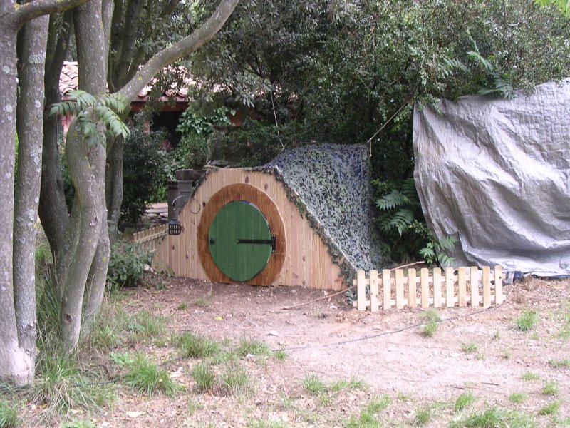 Porte de hobbit trollcalibur for Porte hobbit